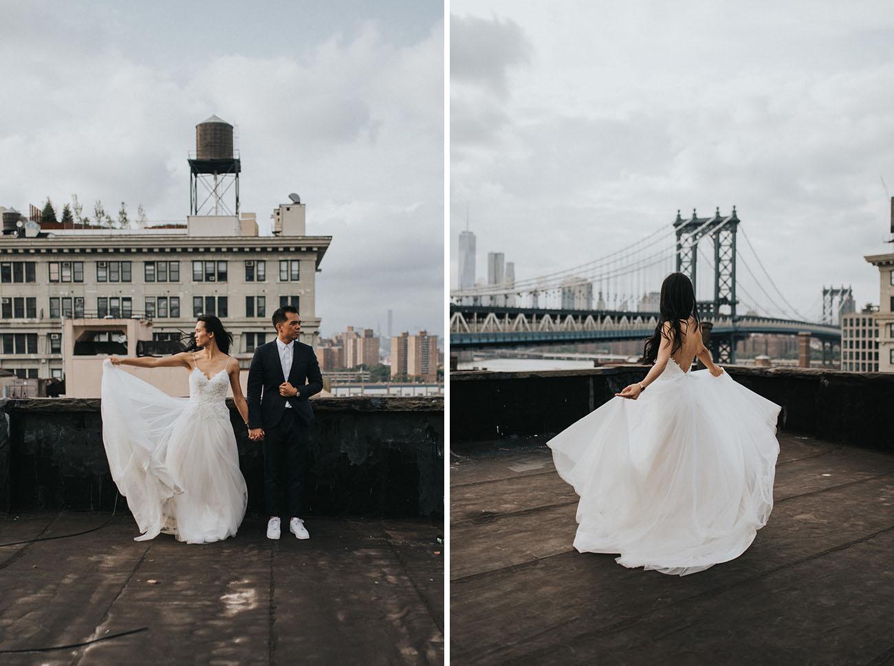 Brooklyn Rooftop Elopement