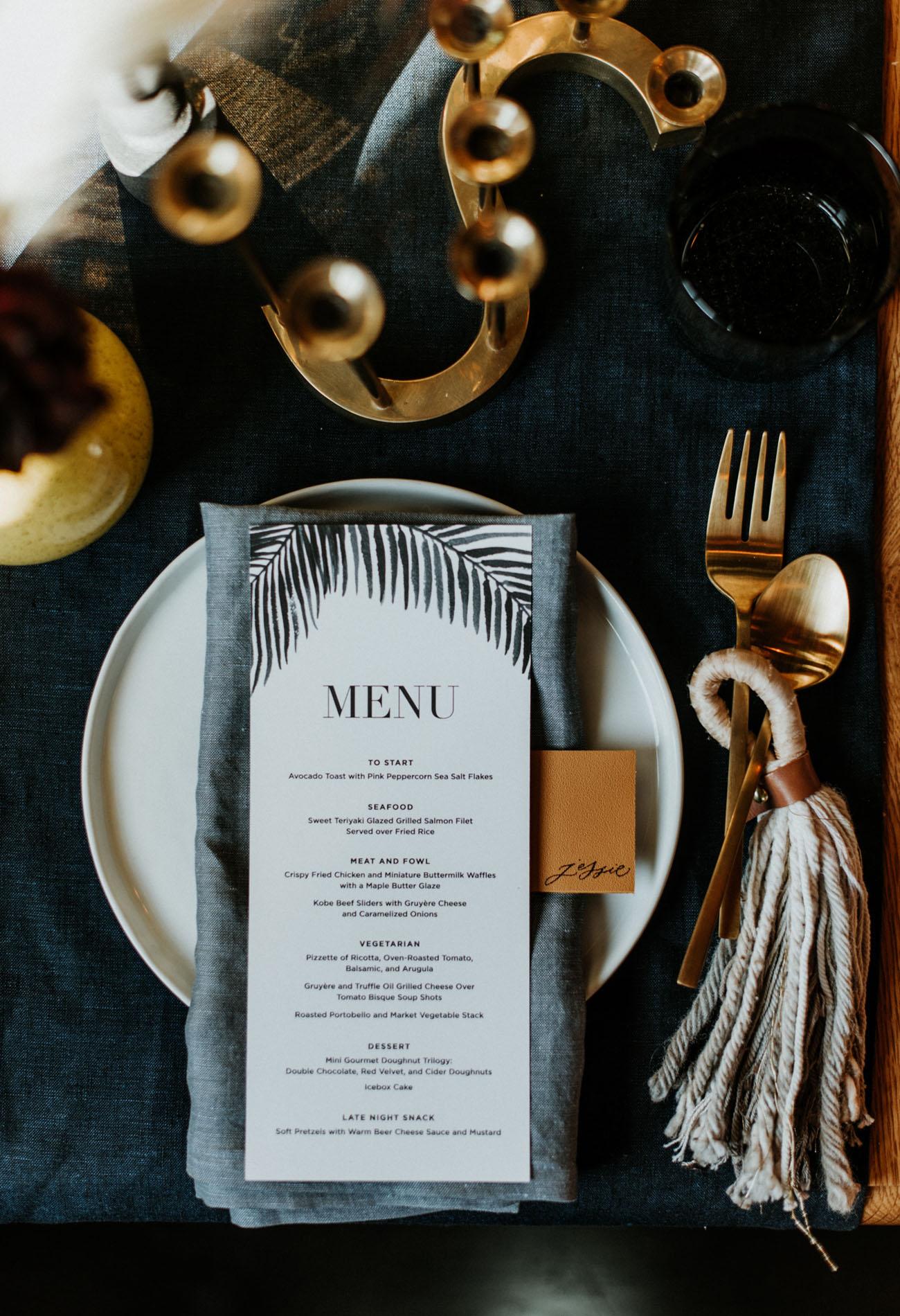 leafy menu
