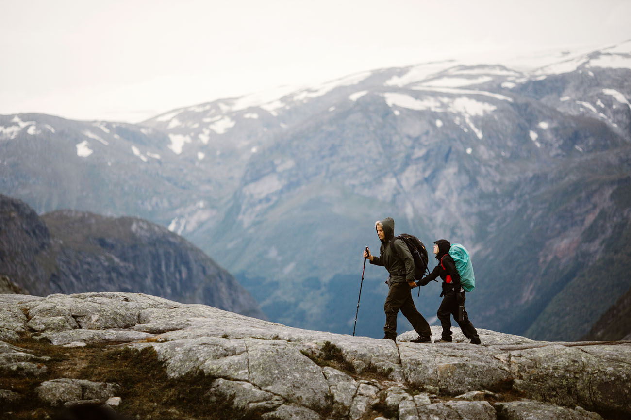 Adventurous Elopement in Norway