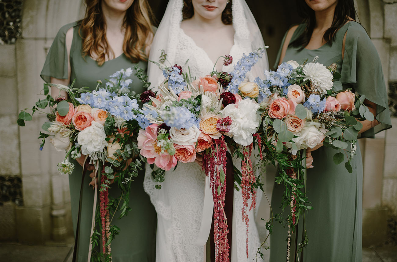 vintage inspired bouquets