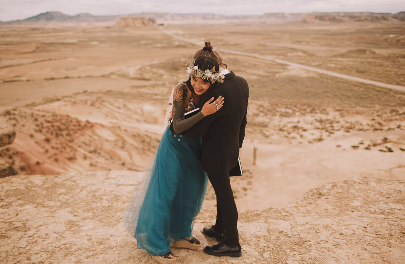 Bardenas Reales Desert Vow Renewal
