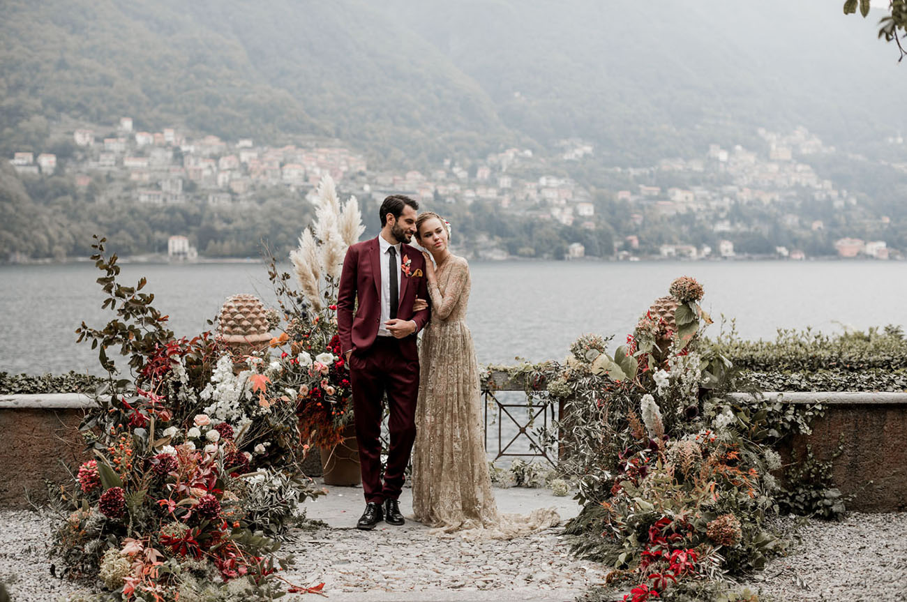 Lake Como Wedding Inspiration