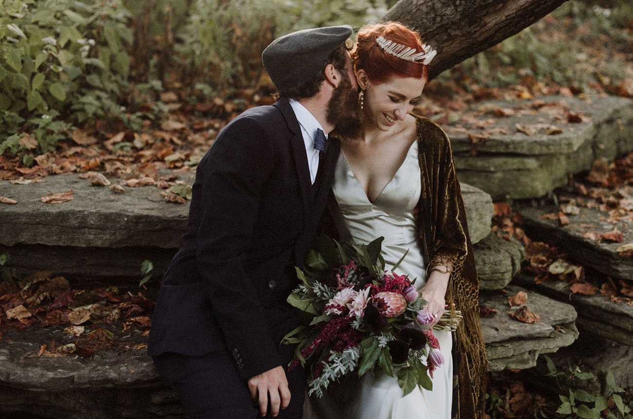 Edgy Chic Chicago Elopement