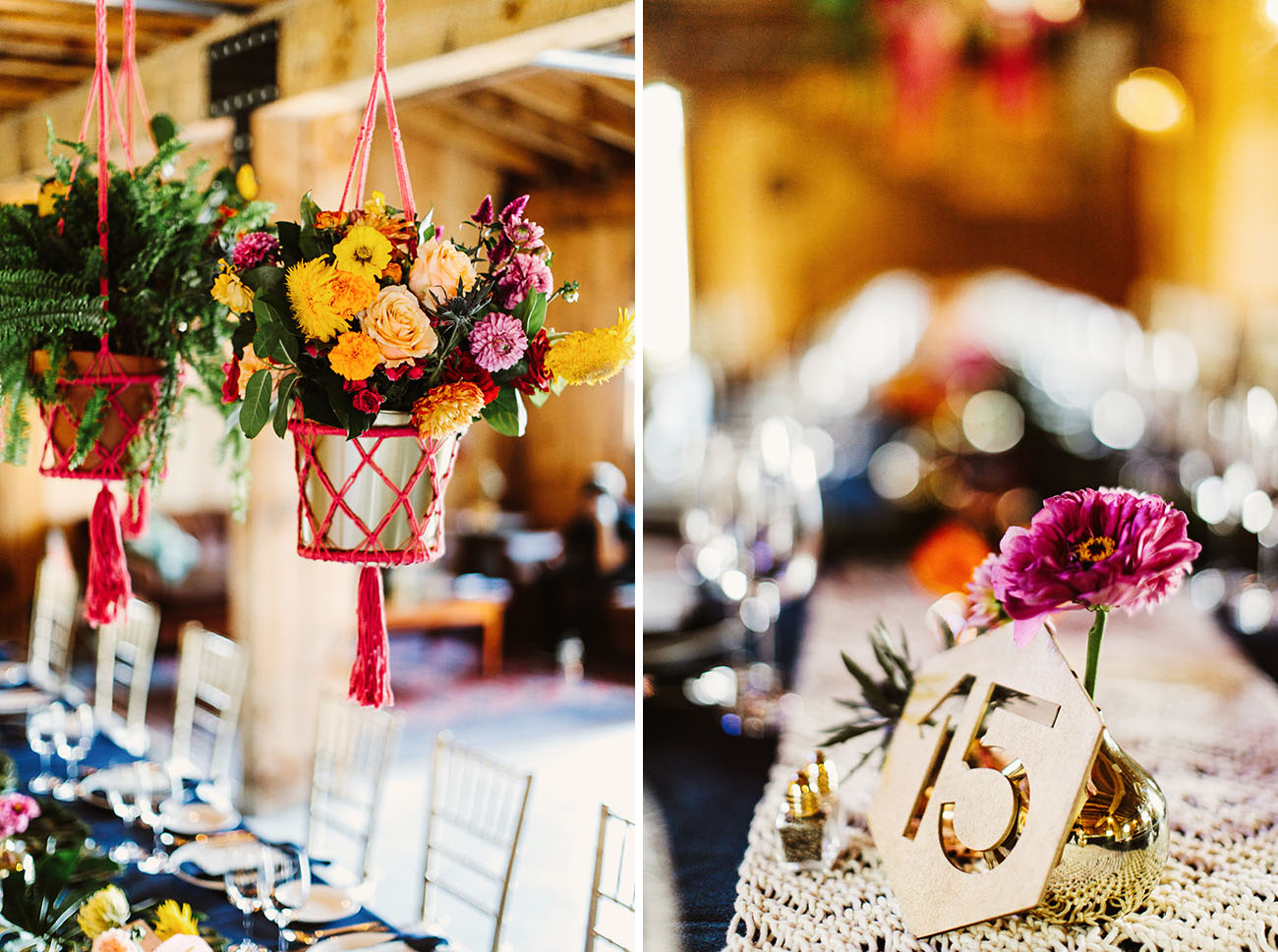 Colorful Moroccan Modern Wedding