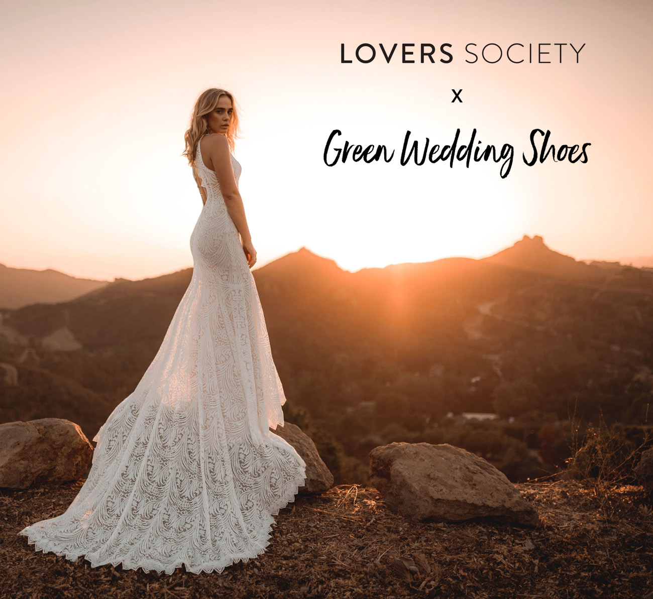 Lovers Society x Green Wedding Shoes Wedding Dress Collection