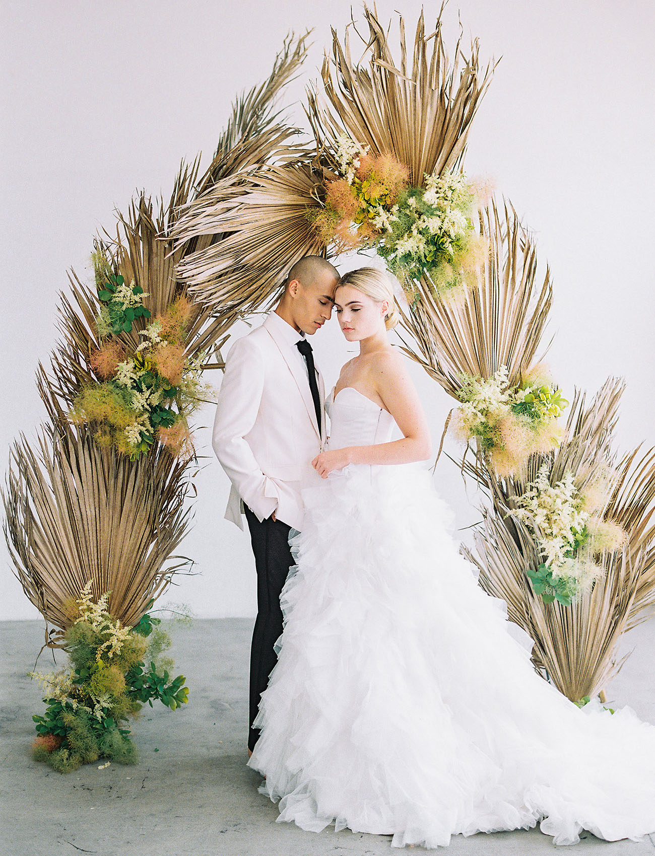 Inspiration for a Beautifully Blush Moroccan-Style Wedding