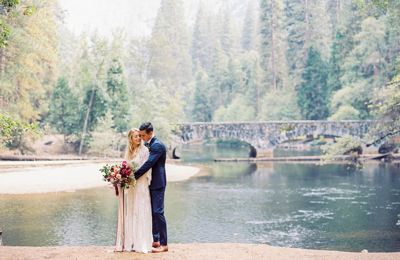 When a Wedding Planner Gets Married: Bohemian-Inspired Nuptials in the Heart of Yosemite