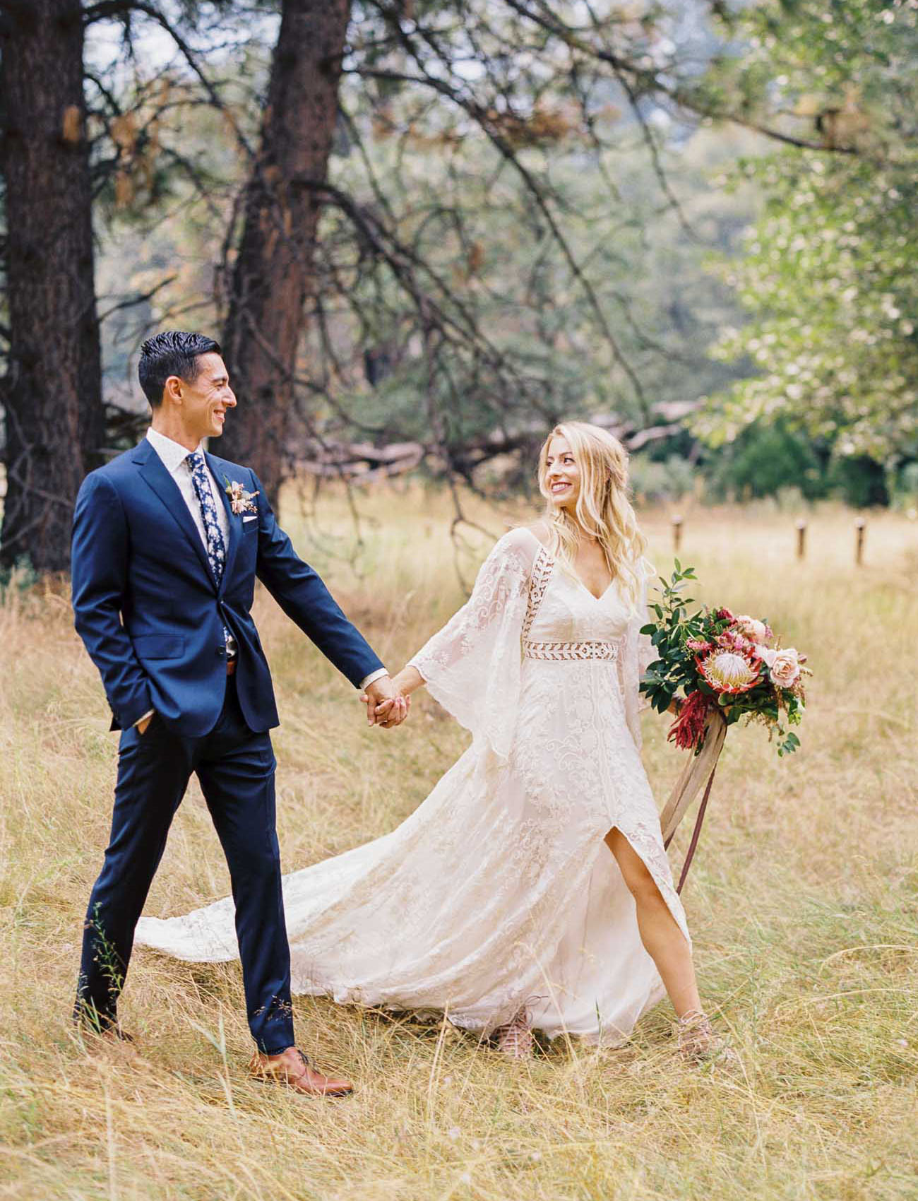 Nature Inspired Boho Wedding