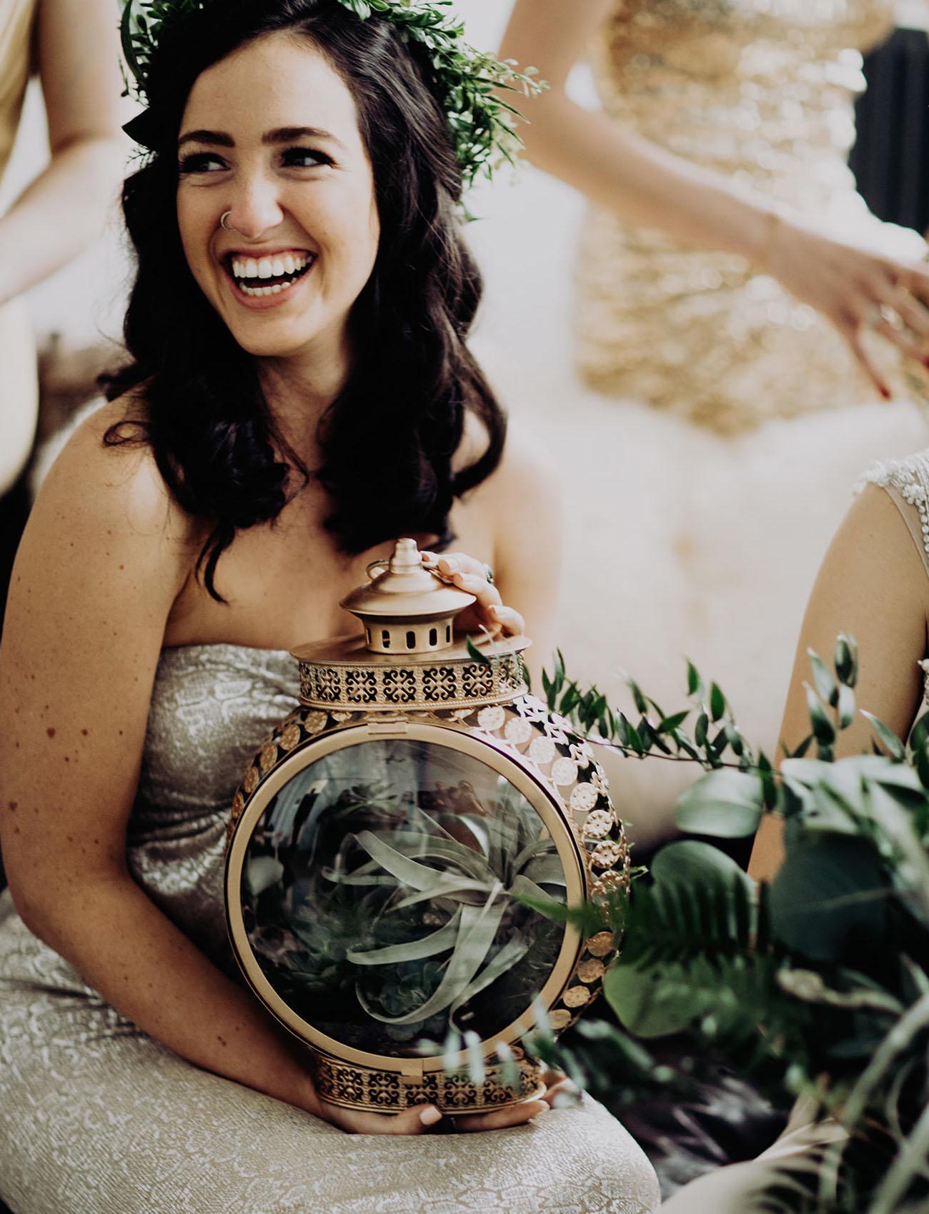 DIY lantern bouquets