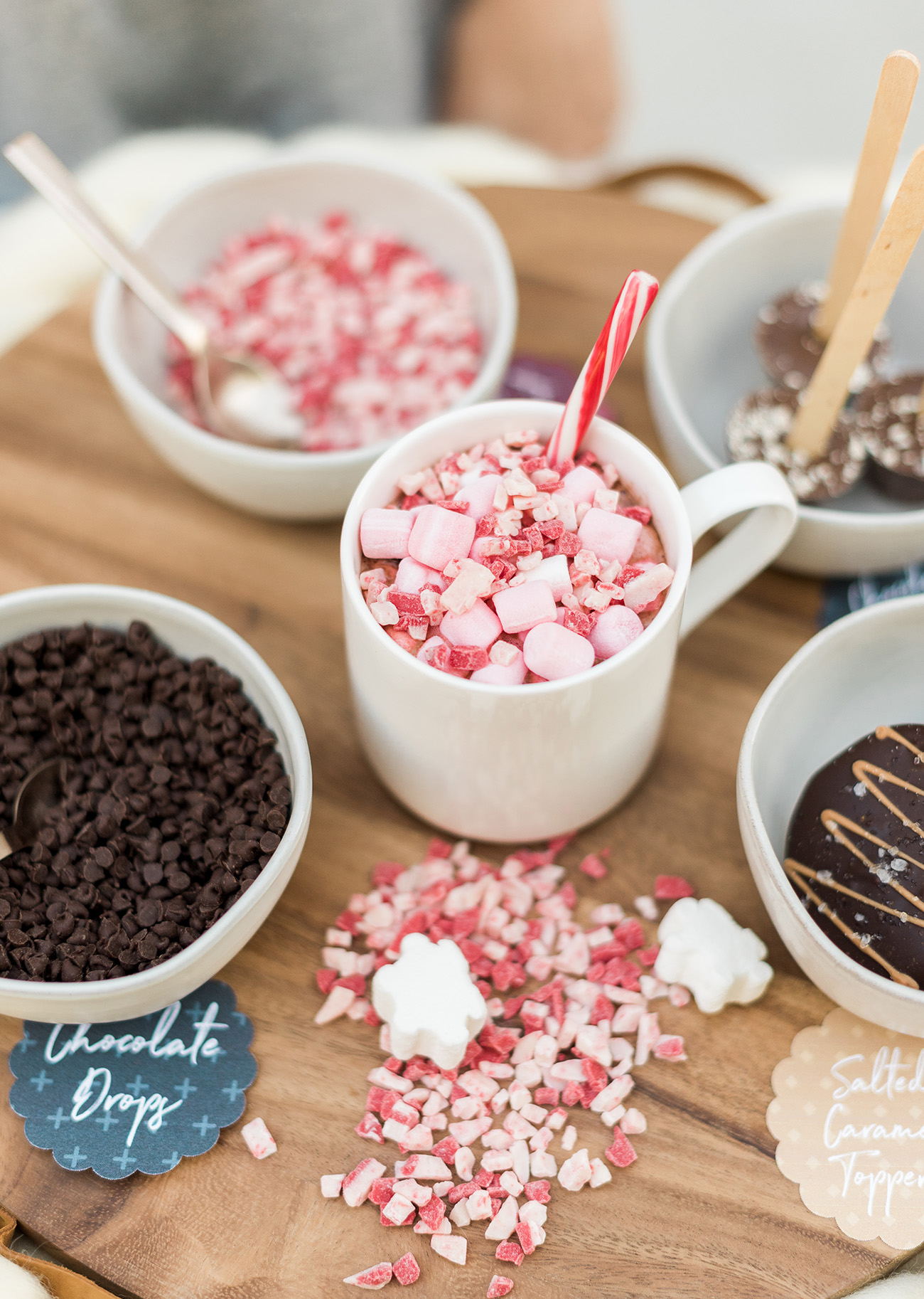 Hot Cocoa with Peppermint DIY