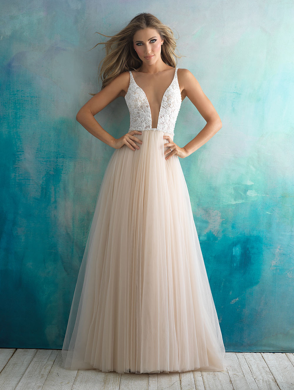 All of the Allure: Allure Bridals Spring 2018 Collection - Green ...