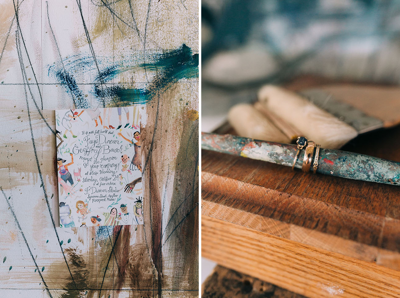 Artist Studio Wedding Inspiration