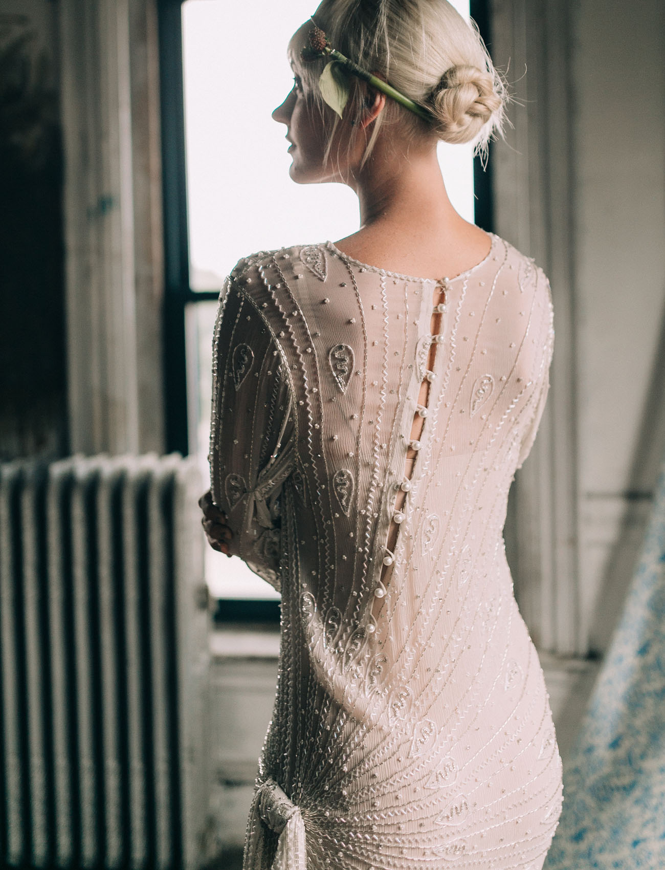 detail back dress