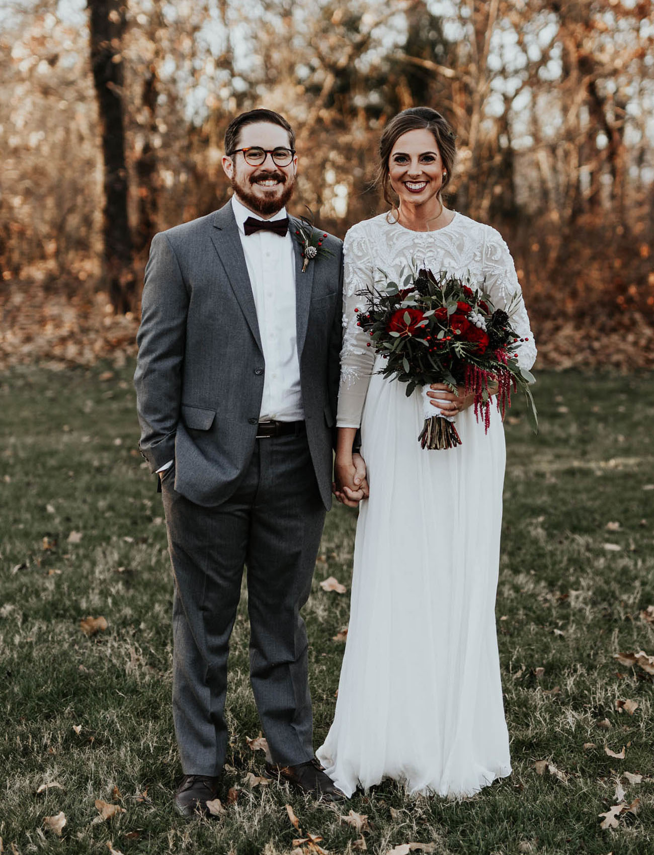 Oklahoma Winter Wedding