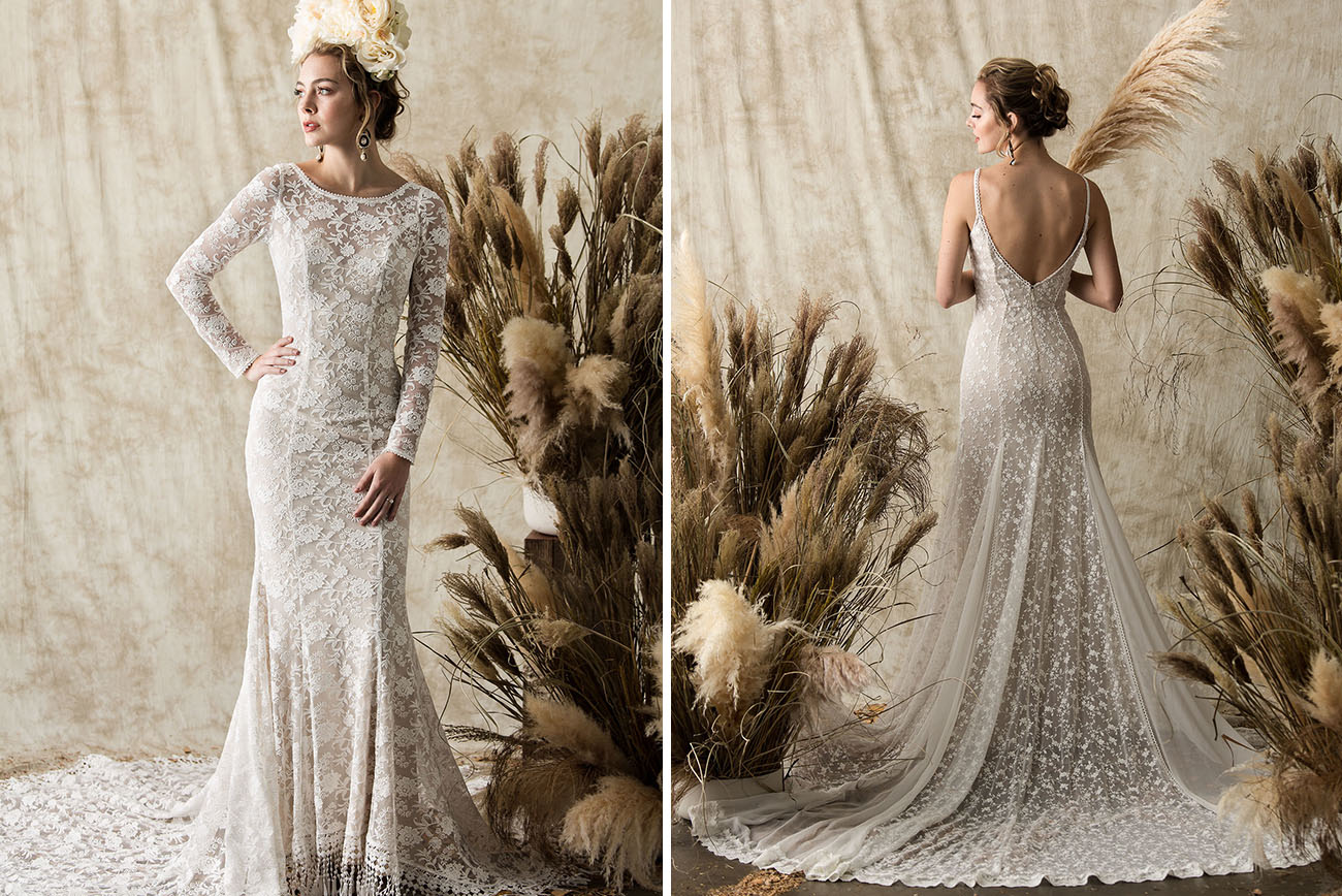 Gowns For The Laid-Back Bride: The Etheria Collection From