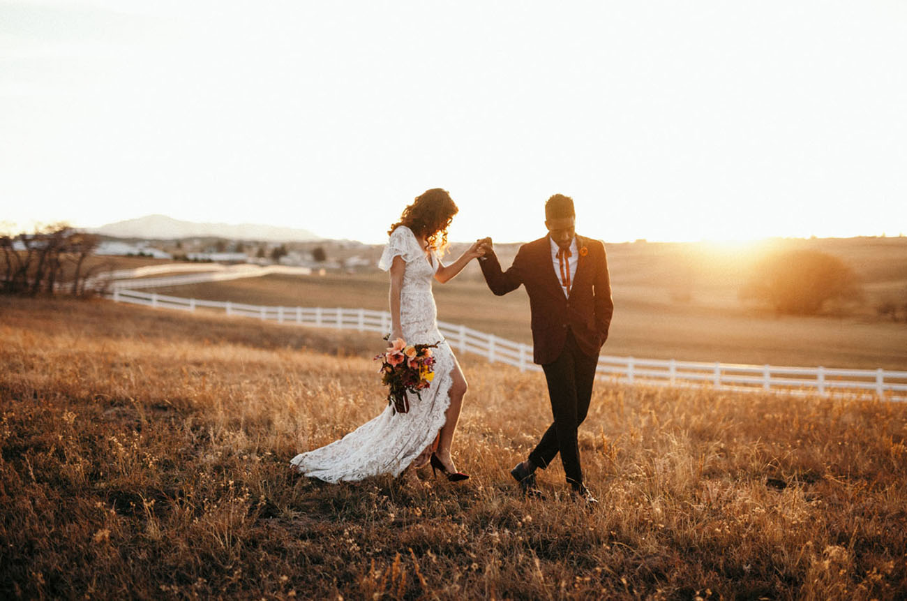 Late Autumn Harvest Wedding Inspiration
