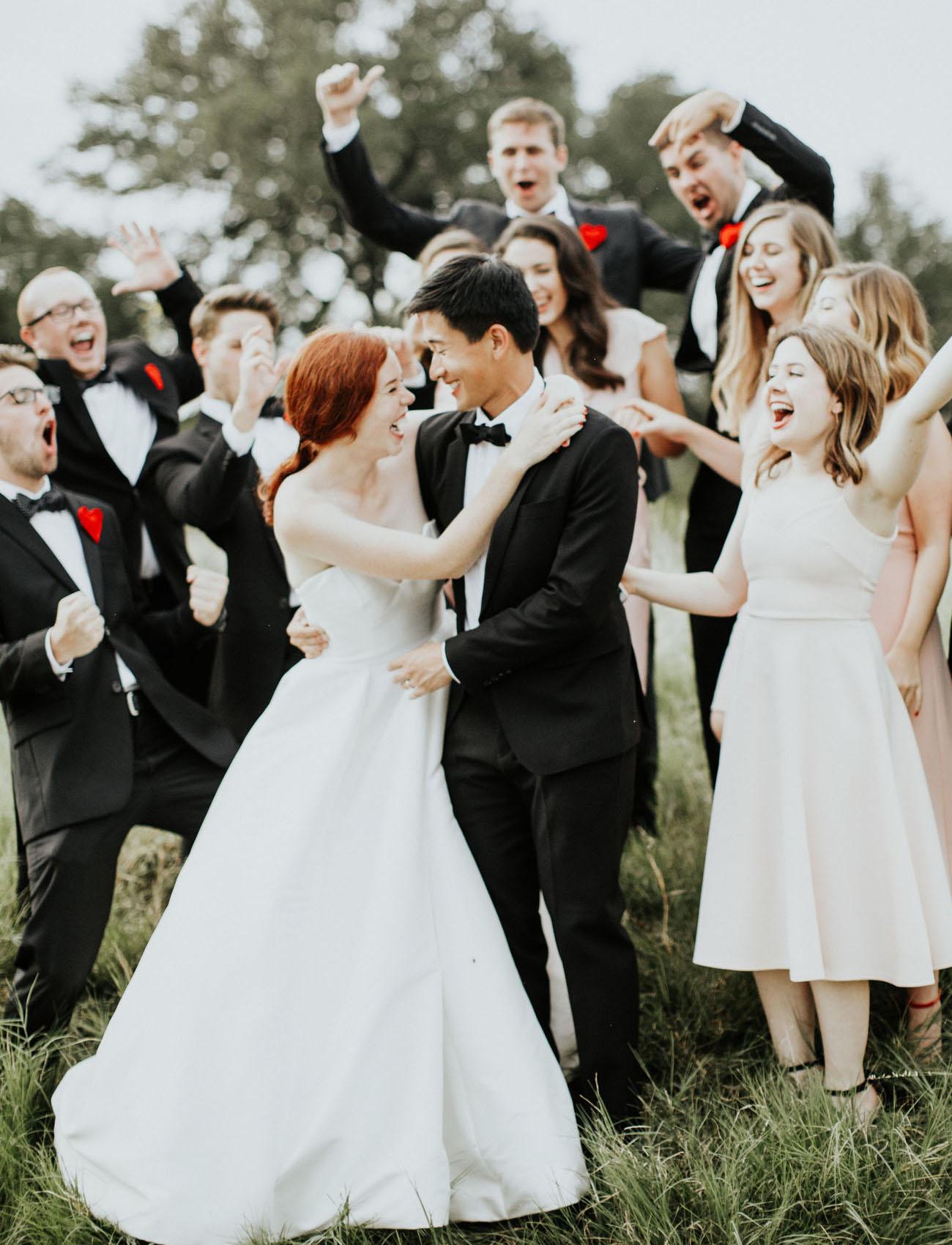 Modern Texas Wedding