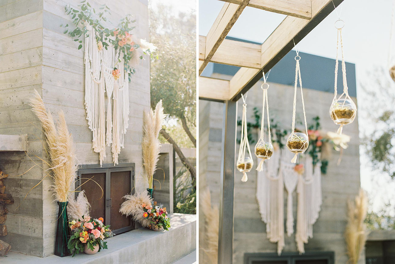 Boho SLO Wedding