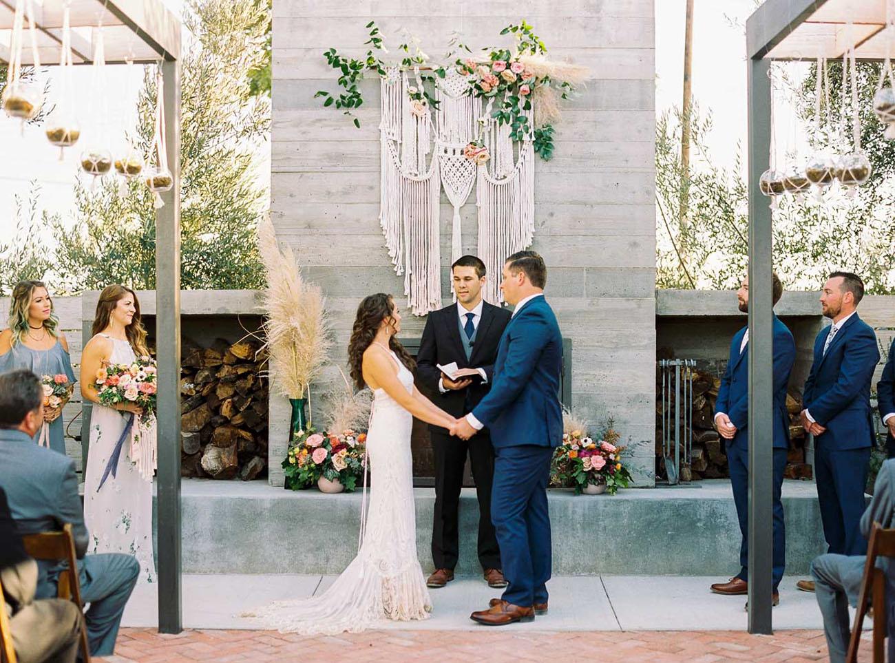 Boho SLO Wedding