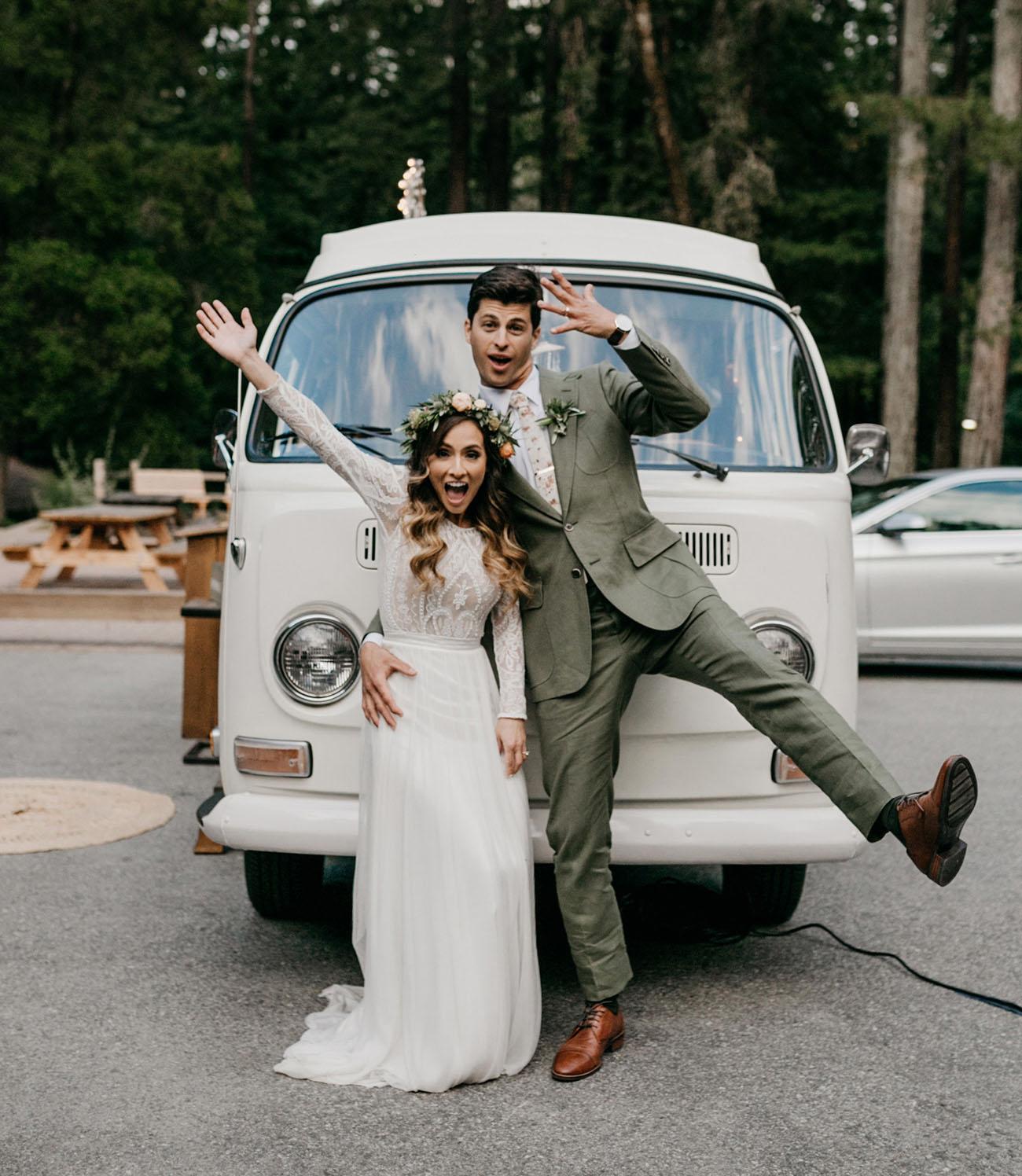 Rustic Redwoods Wedding