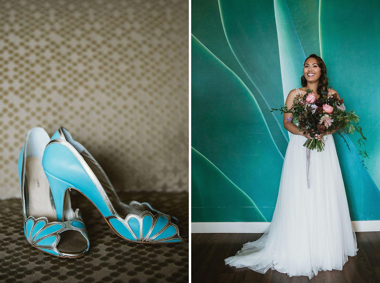 Dark Elegance Moody Meets Boho Wedding In San Diego Green