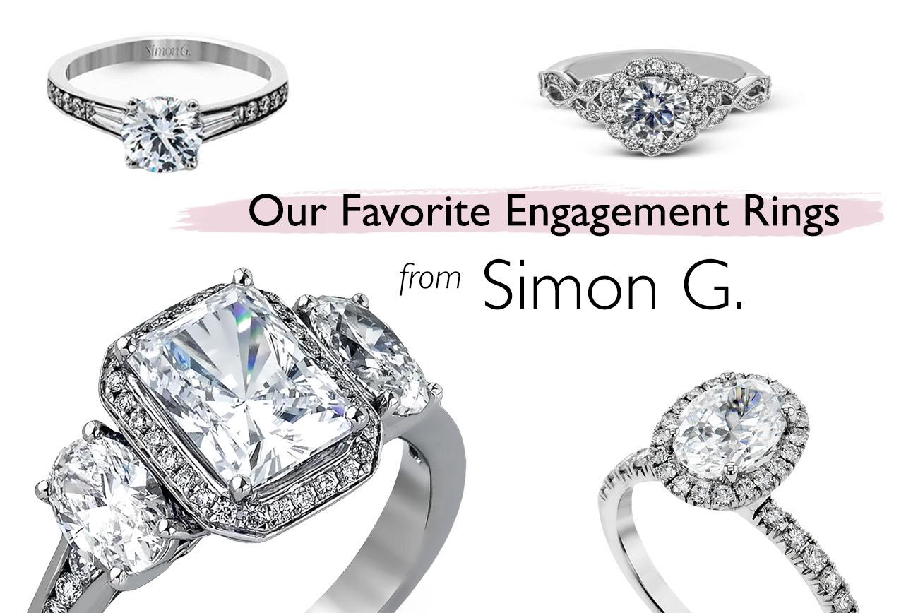 Engagement rings from Simon G