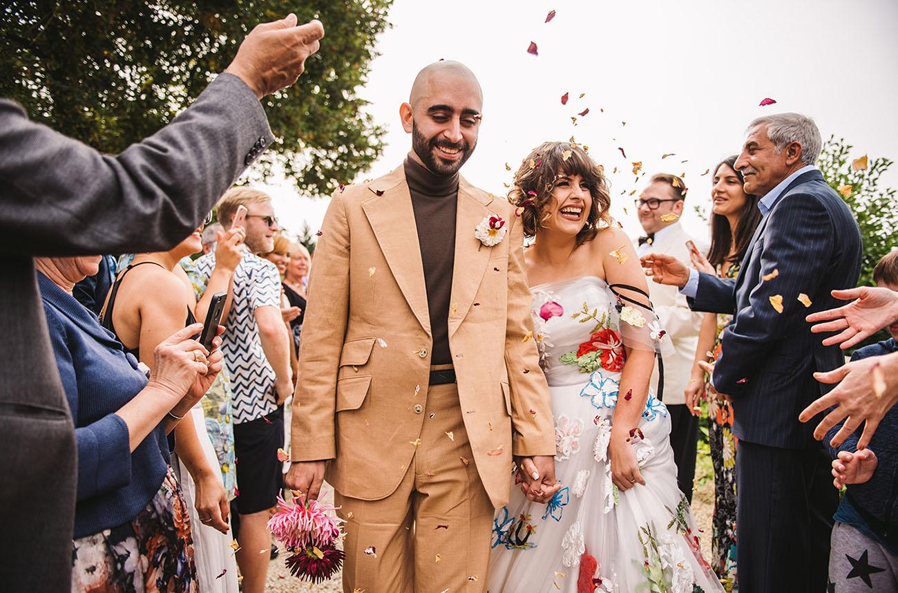 Wedding Festival on a Fort