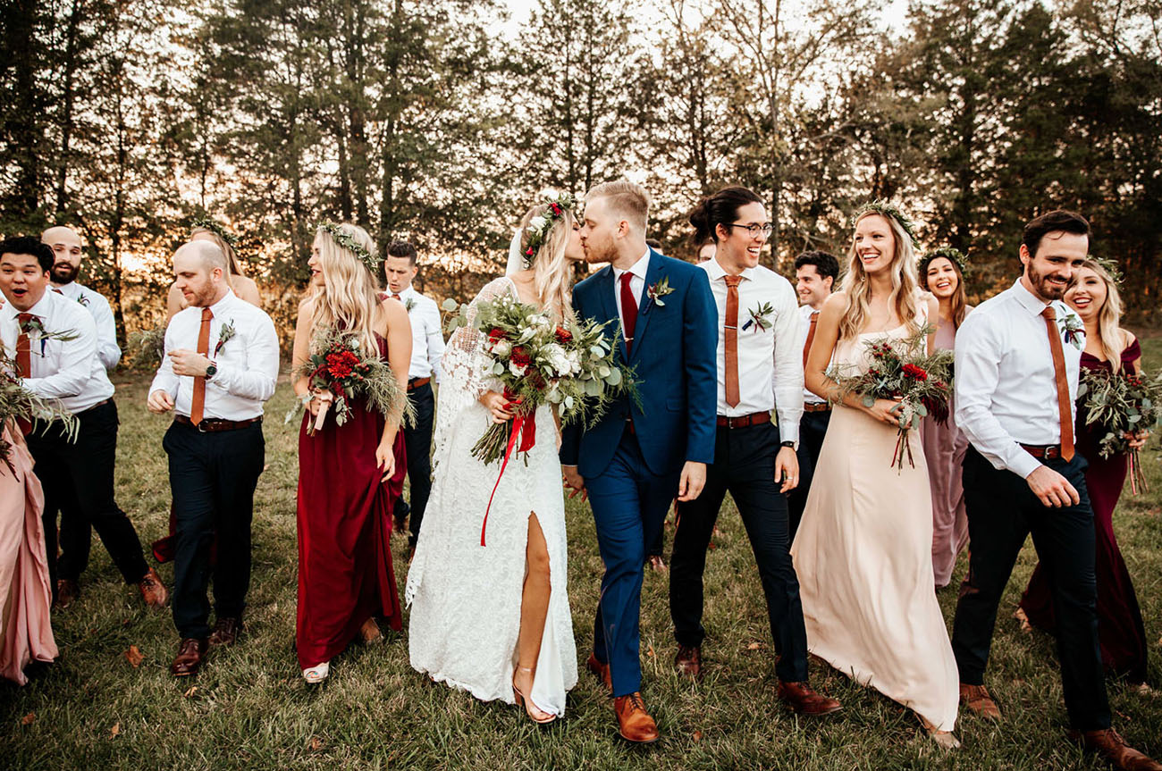 Bohemian Tennessee Wedding