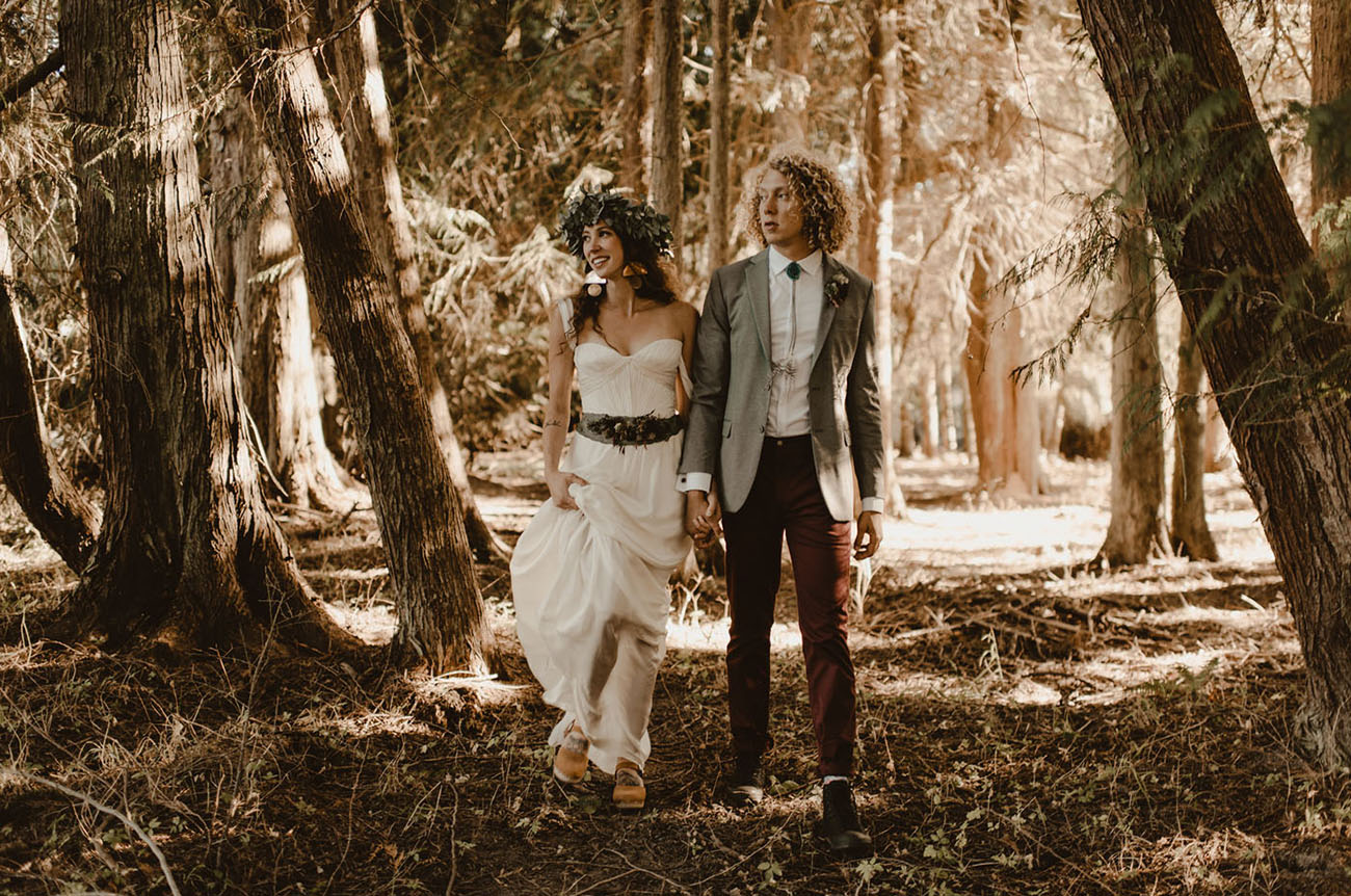 Eclectic Port Angeles Wedding