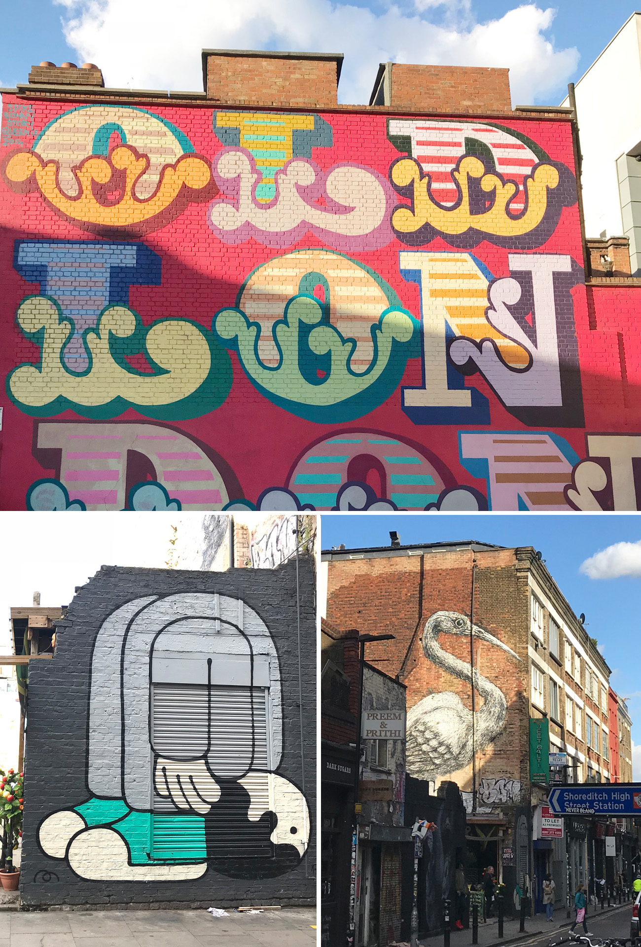 Shoreditch London Graffiti