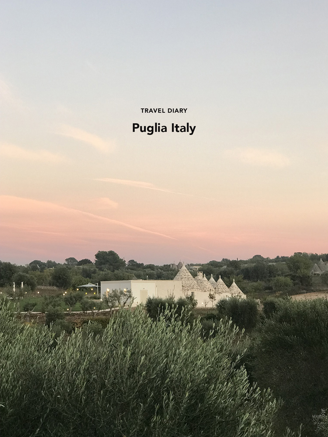 Puglia Italy Travel Feature