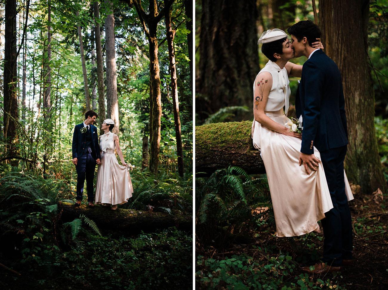 Audrey Hepburn Meets Wes Anderson Wedding