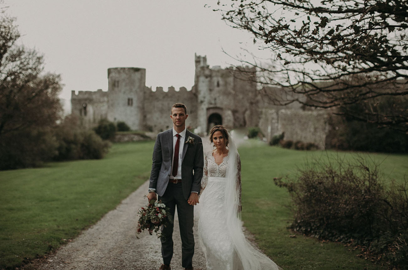 Wales Vintage Castle Wedding