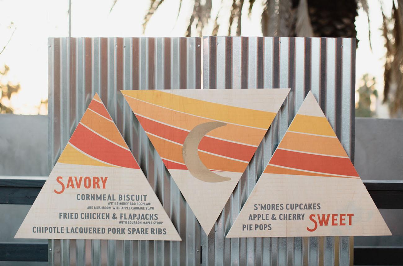 triangle signage