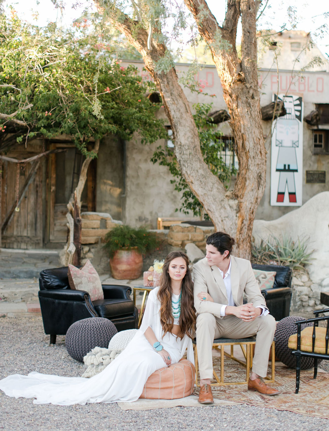 Eclectic and Rustic Wedding Inspiration