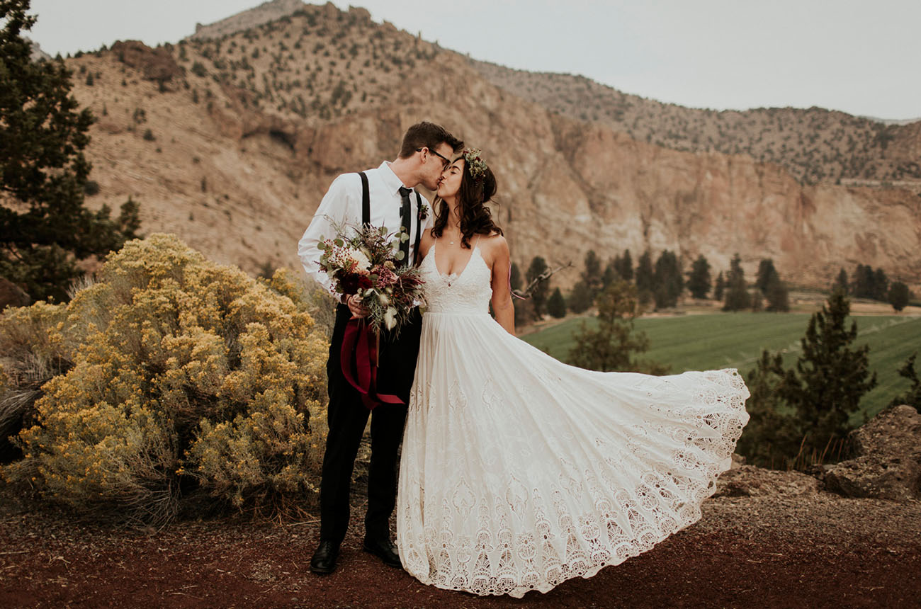 High Desert Wedding Oregon