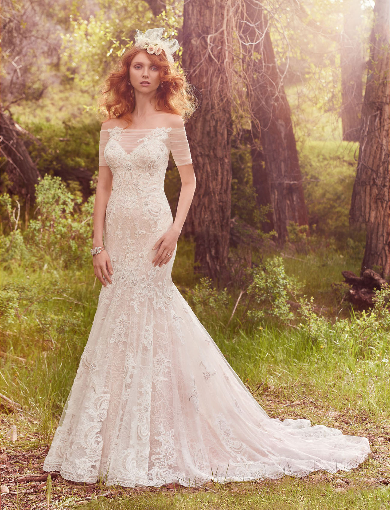 Show Those Shoulders With These Gowns From Maggie Sottero Green