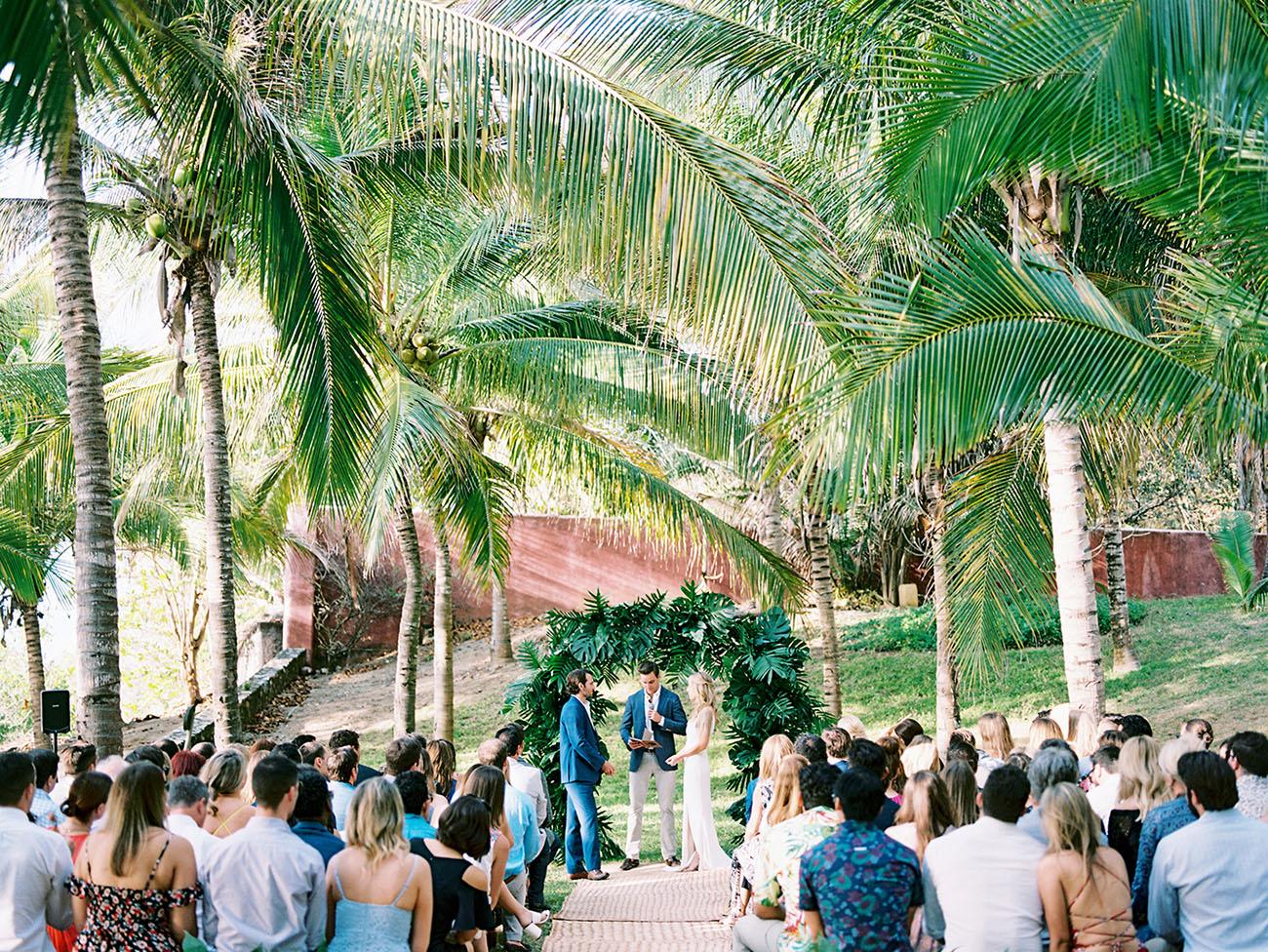 Modern Mexico Destination Wedding