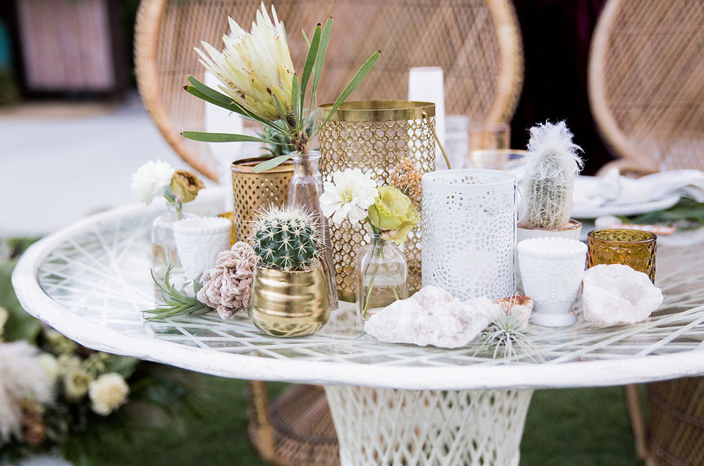 Muted Modern Boho Wedding