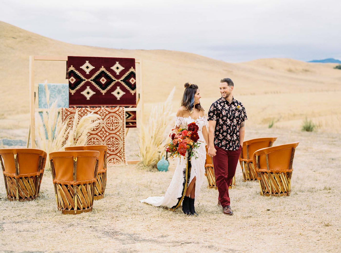 Southwestern Rocker Inspired Wedding