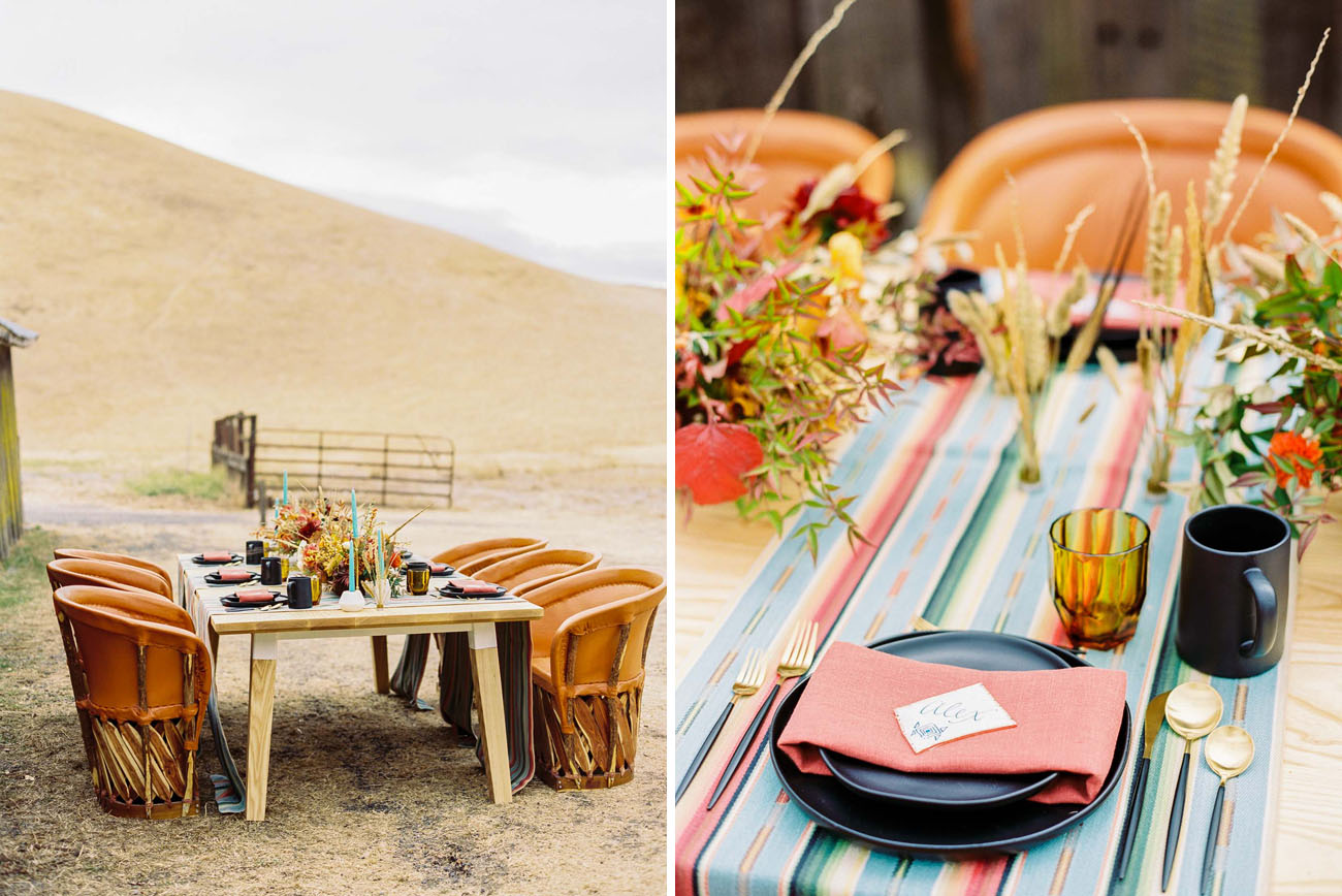 Southwestern Rocker Inspired Wedding