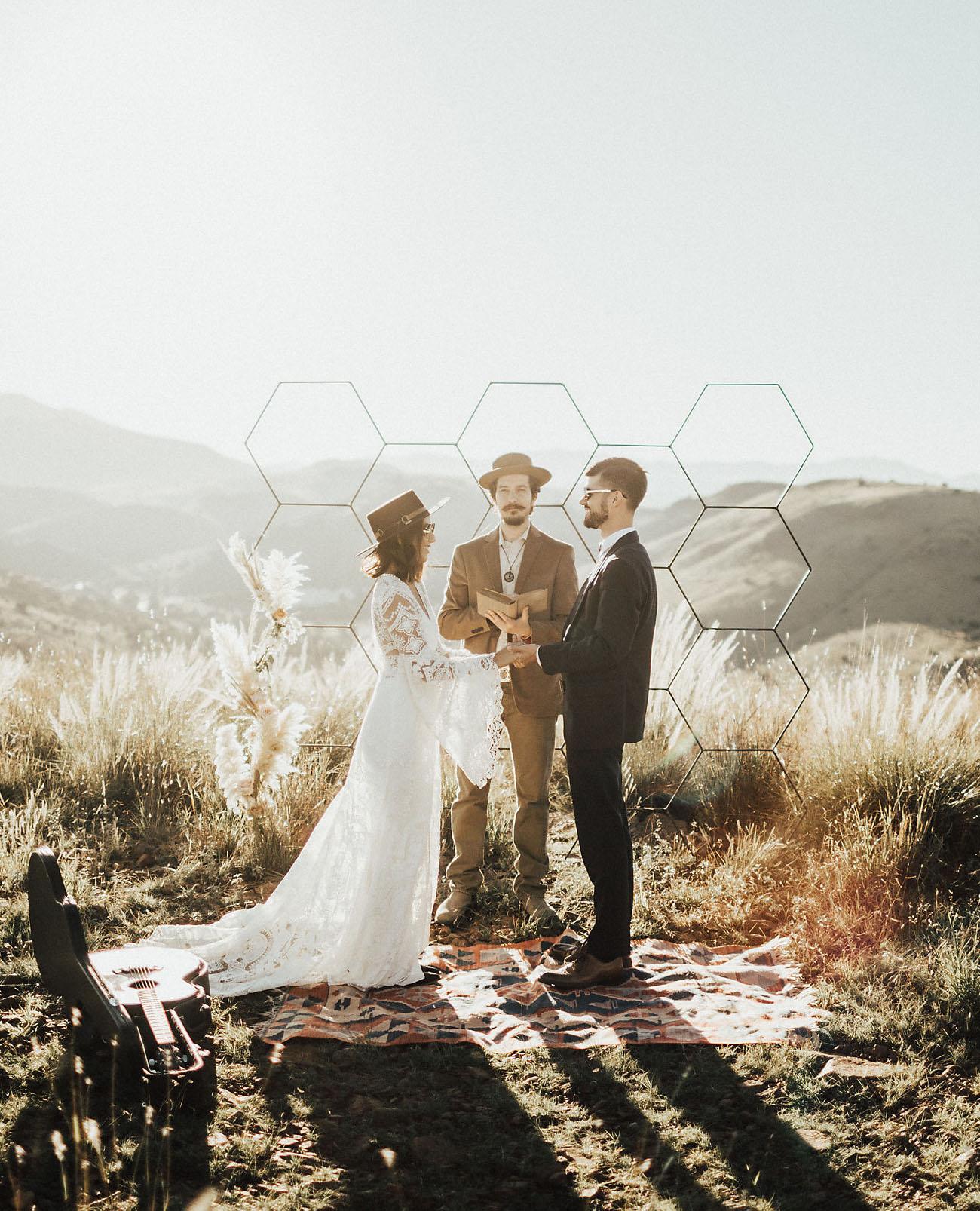 octagon backdrop