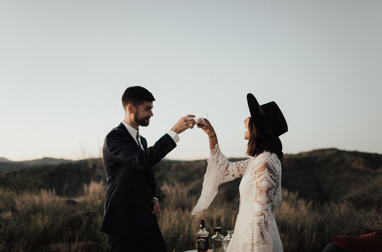 Marfa Intimate Vow Renewal