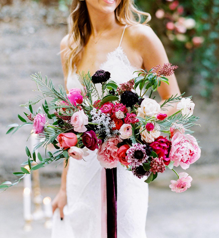deep pink bouquet