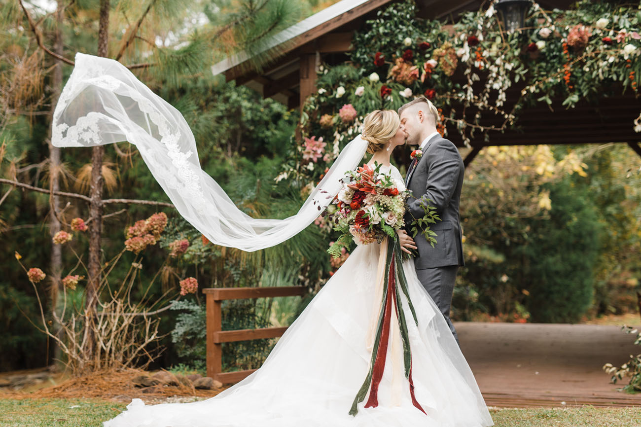 Timeless, Romantic, Winter Wedding