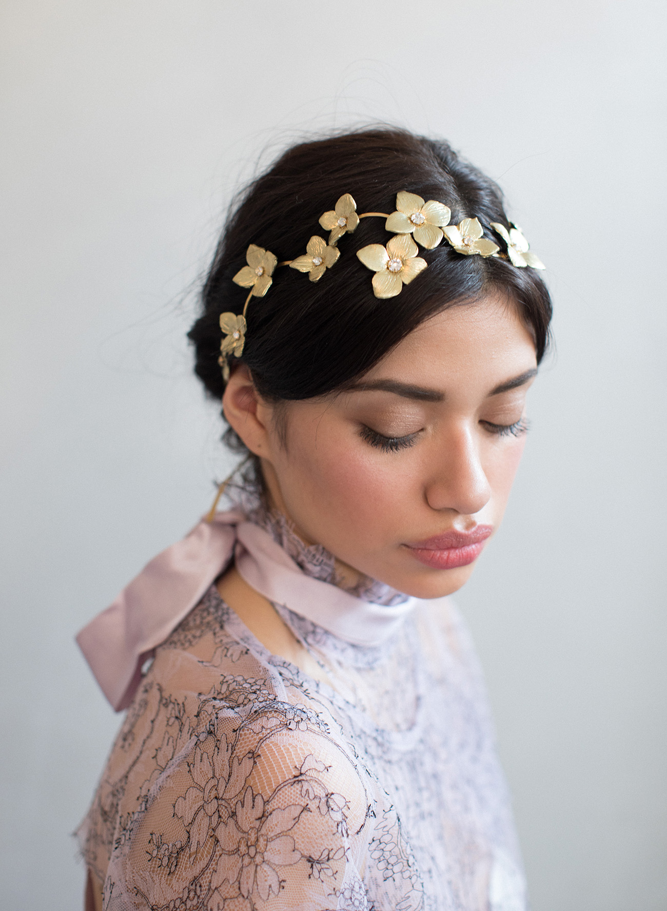 twigs & honey gold hairpiece