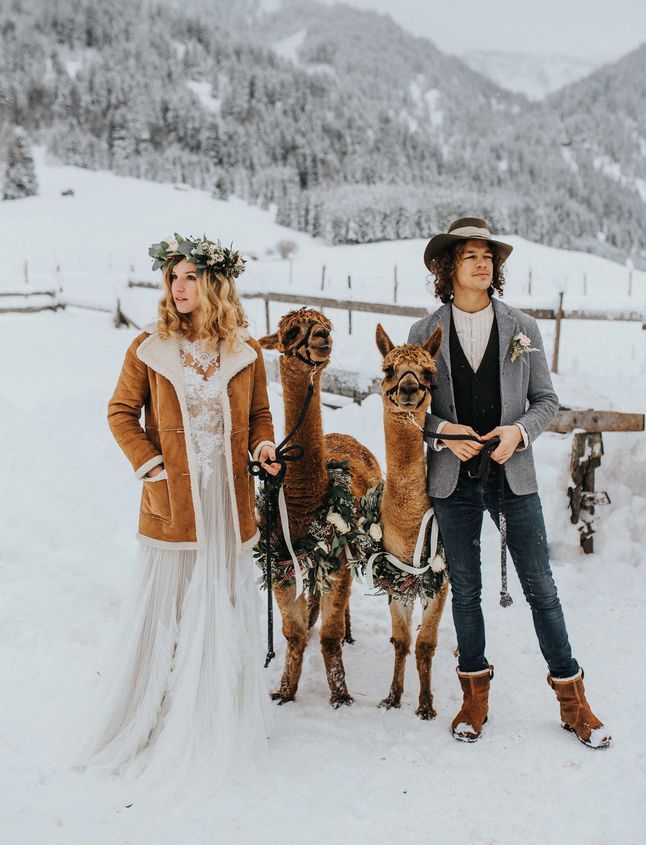 Winter Boho Wedding Inspiration