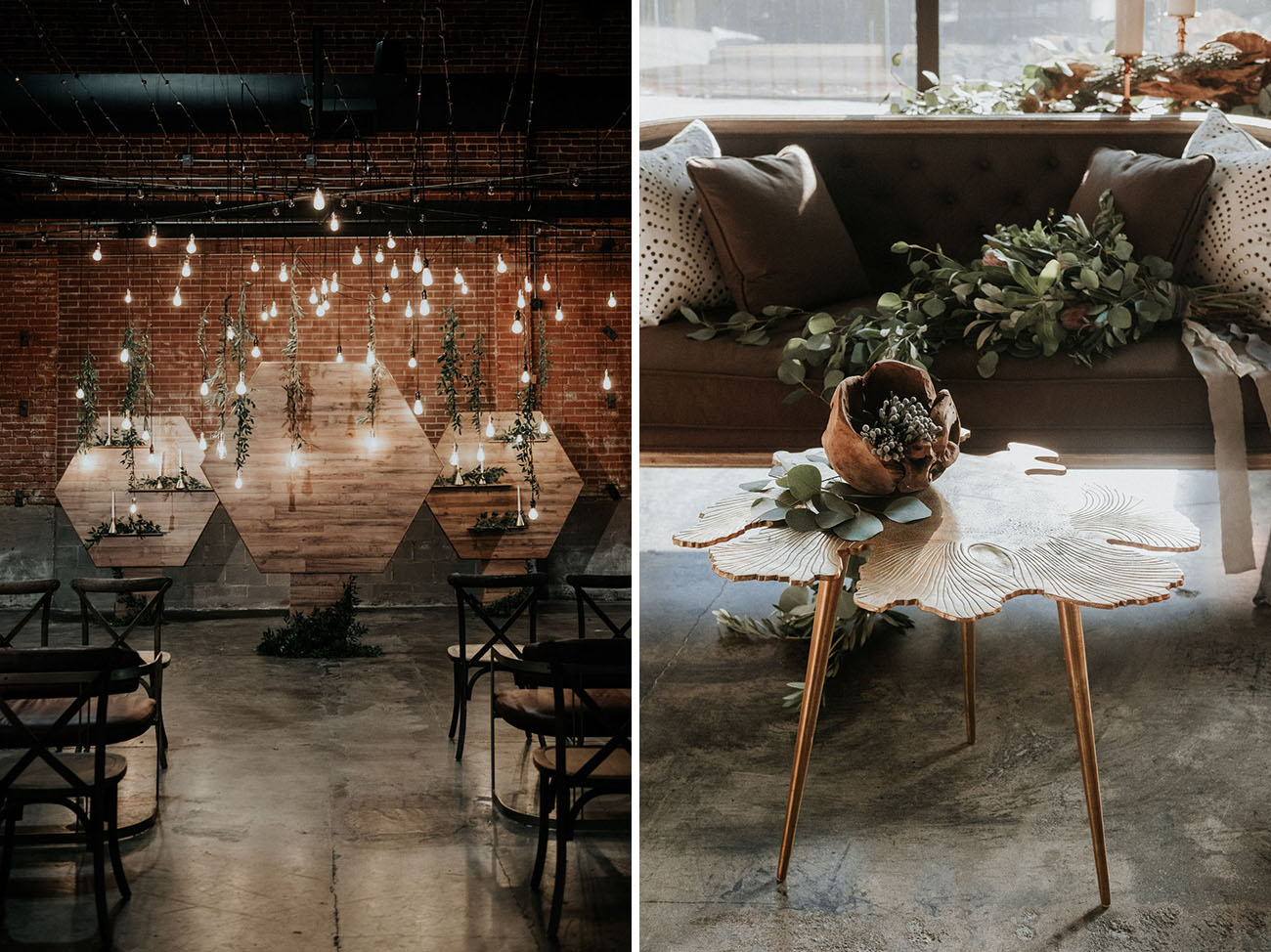 Wood + Water Wedding Inspiration