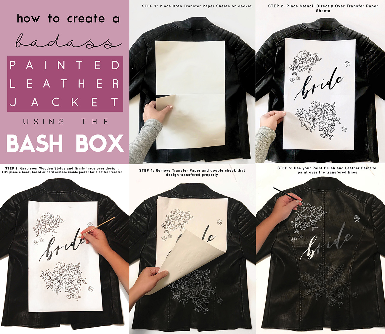 How To Diy A Custom Leather Jacket It S Easier Than You