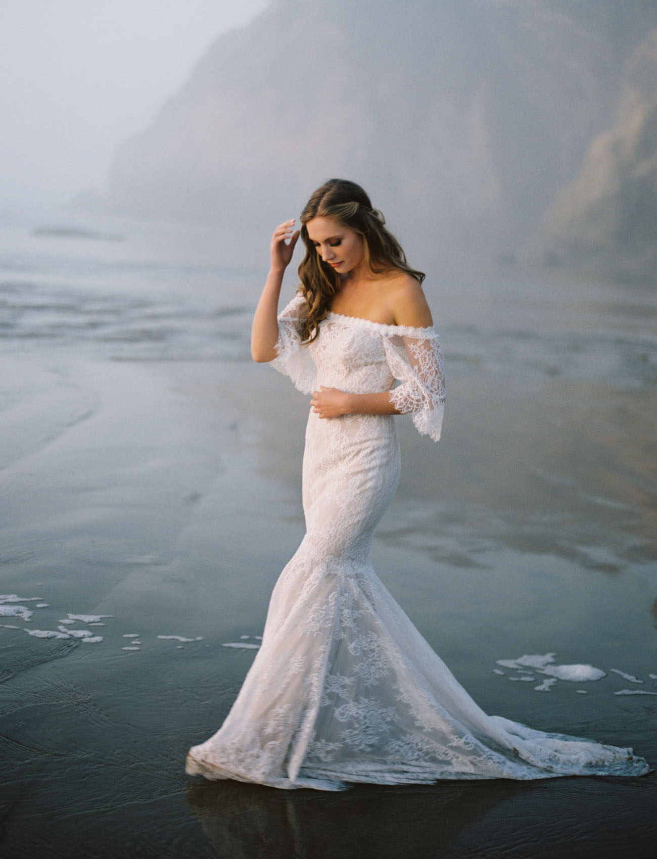 Allure Bridals: Boho Wedding Dresses by Wilderly Bride